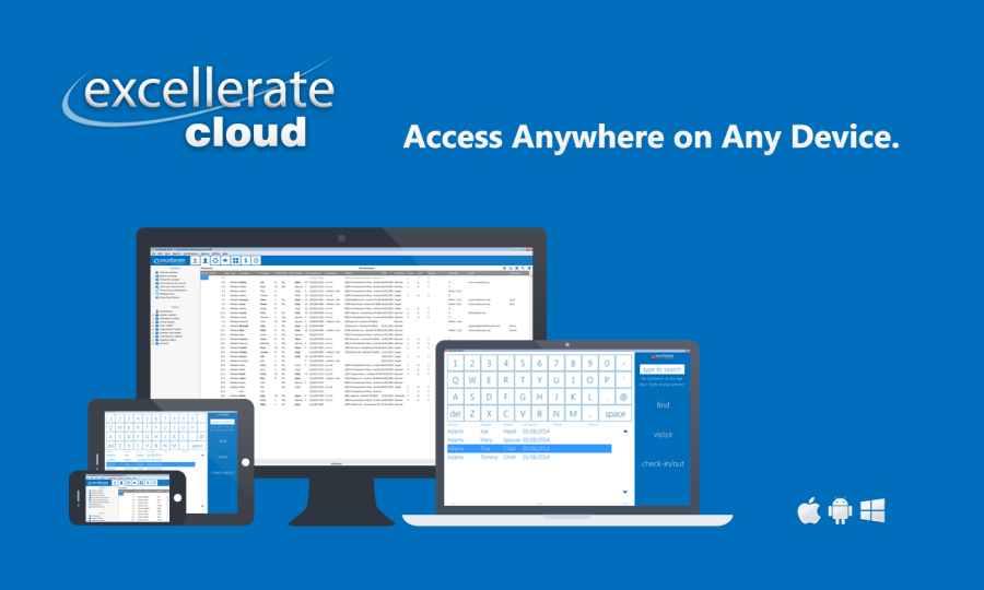 Excellerate Cloud - Cloud Based Church Management